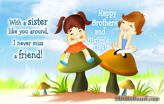 Wishes with Sisters Graphics, Sisters Greetings, Sisters Images, Sisters Photos and Pictures for Orkut, Facebook, other Social Network Websites.