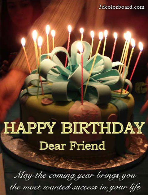 Wishes with Birthday Candles Graphics, Birthday Candles Greetings, Birthday Candles Images, Birthday Candles Photos and Pictures for Orkut, Facebook, other Social Network Websites.
