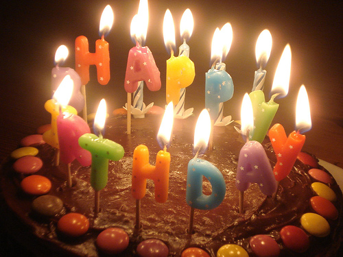 Wishes With Birthday Candles Graphics Greetings Images