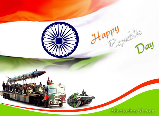Wishes with Republic Day Graphics, Republic Day Greetings, Republic Day Images, Republic Day Photos and Pictures for Orkut, Facebook, other Social Network Websites.