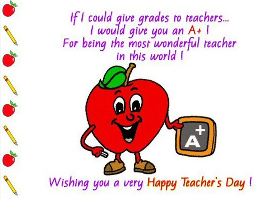 Wishes with Teachers Day Graphics, Teachers Day Greetings, Teachers Day Images, Teachers Day Photos and Pictures for Orkut, Facebook, other Social Network Websites.